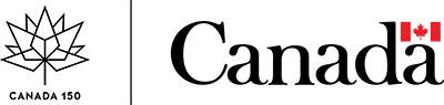 Canada 150 and Government of Canada logos / Logos de Canada 150 et du gouvernement du Canada