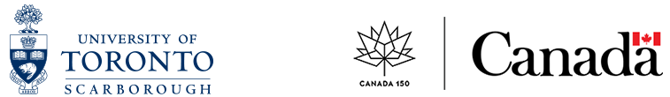 U of T Scarborough and Government of Canada logos.