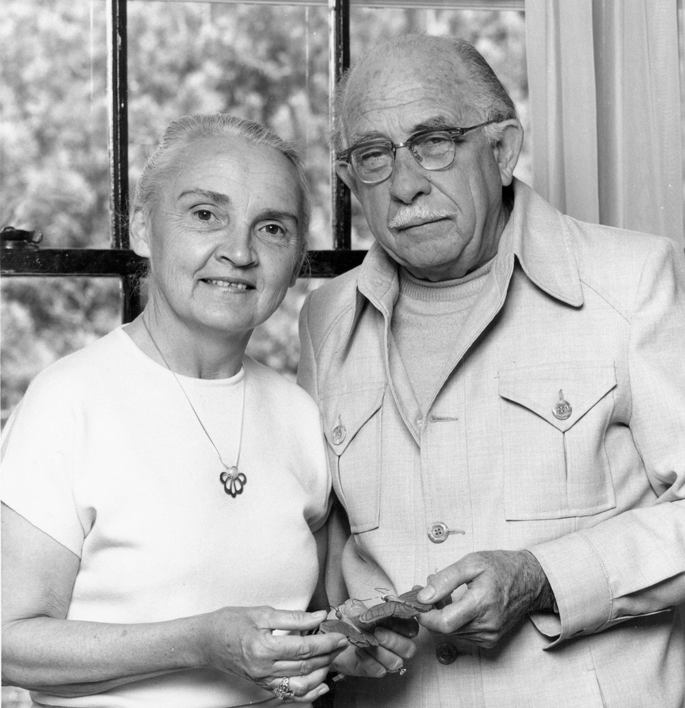 Fred Urquhart and Norah Patterson